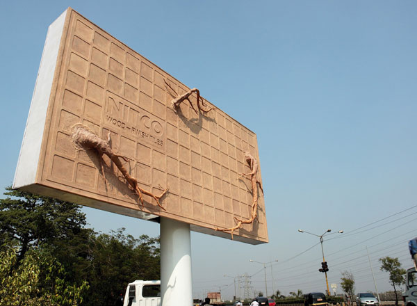 Nitco Wood Finish Tiles Creative Billboard