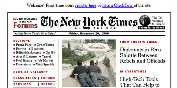 nytimes 1996