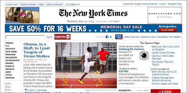 nytimes 2013