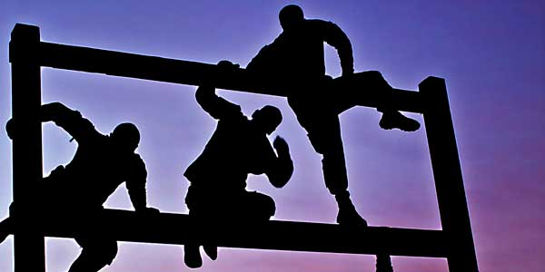 obstacle standing between you and success