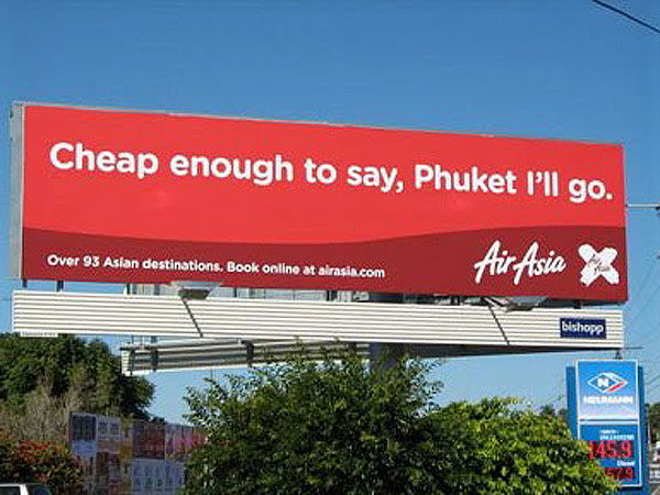 Phuket Creative Billboard