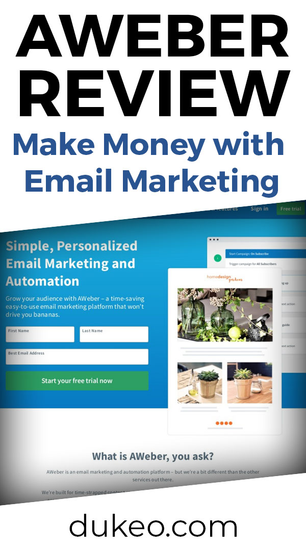 Aweber Review: Make Money with Email Marketing