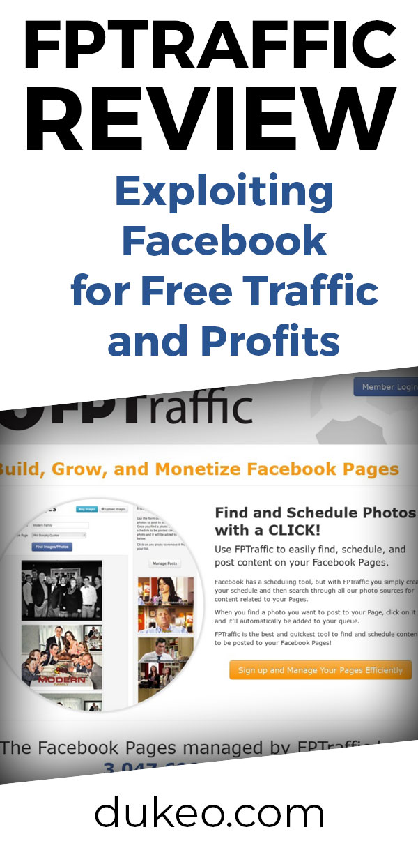 FPTraffic Review: Exploiting Facebook for Free Traffic and Profits