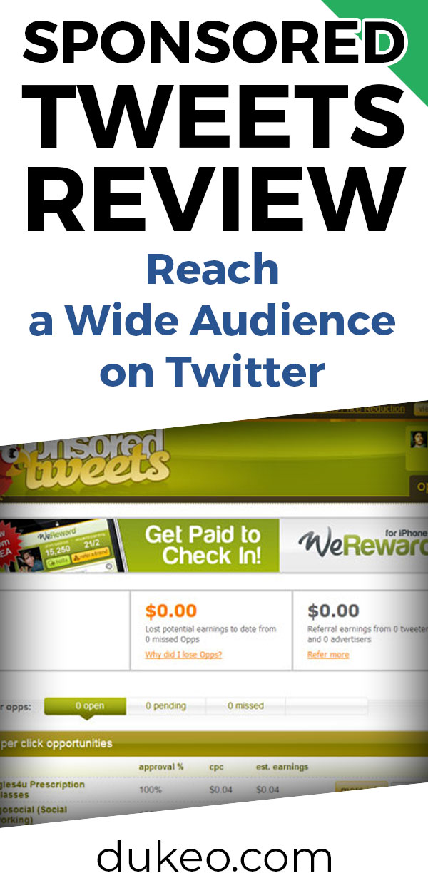 Sponsored Tweets Review: Reach A Wide Audience On Twitter