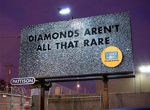 Science World Diamond Creative Billboard