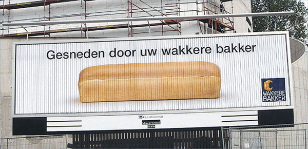 Sliced Bread Creative Billboard