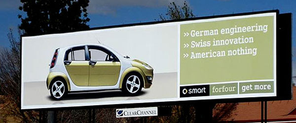 Smart American Nothing Creative Billboard