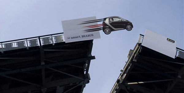 Smart Brabus Creative Billboard
