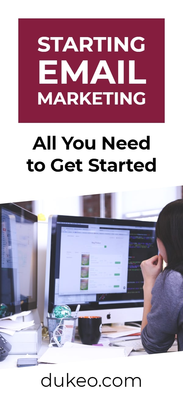 Starting Email Marketing: All You Need to Get Started