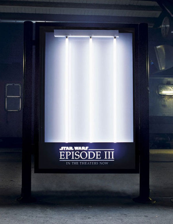 Starwars Creative Billboard