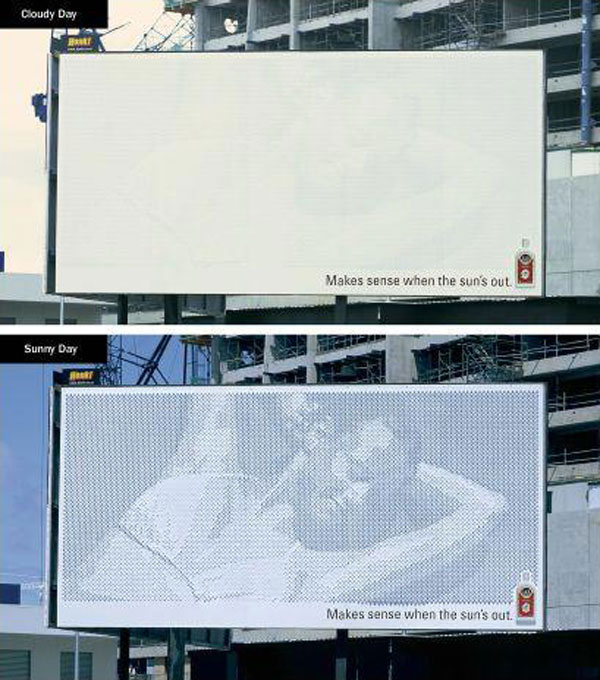 Sun Sense Creative Billboard