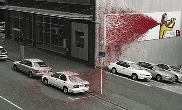 Tarantino Kill Bill Creative Billboard