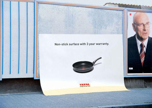 Tefal Non Stick Surface Creative Billboard
