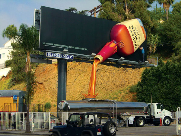 Whisky Creative Billboard