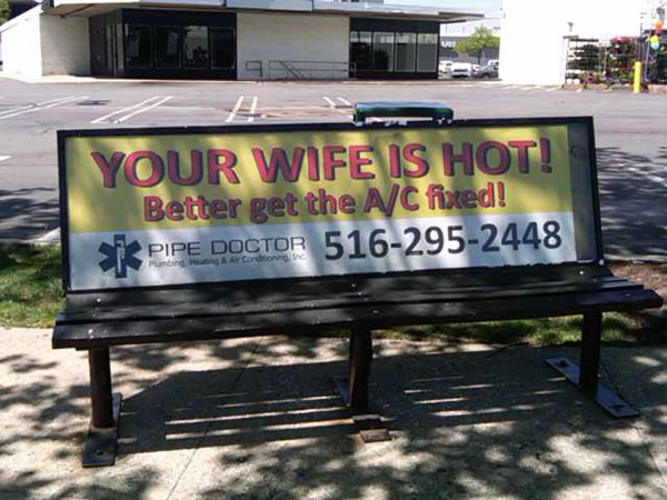 Your Wife Is Hot Creative Billboard