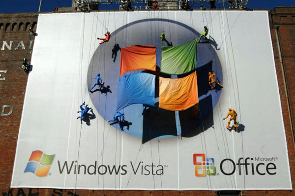 Windows Vista Creative Billboard