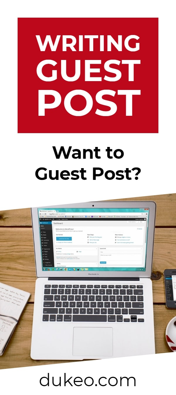 Writing Guest Post: Want to Guest Post?